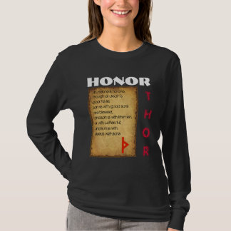 Camiseta Honra de Havamal