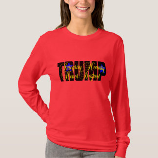 Camiseta Honra do trunfo! TSHIRT LONGO DA LUVA