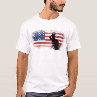 Camiseta Honre nossos heróis no Memorial Day