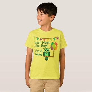 Camiseta Hoo-Raio da buzina da buzina dos miúdos eu sou