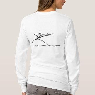 Camiseta Hoodie cabido do Joseph das mulheres