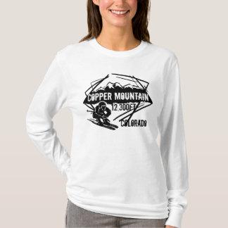 Camiseta Hoodie de cobre da elevação do esqui de Colorado