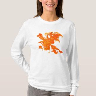 Camiseta hoodie de phoenix