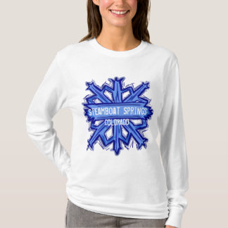 Camiseta Hoodie do floco de neve de Steamboat Springs