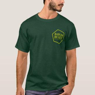 Camiseta Hoodie do GRUPO de POÇO (yellow/dk. verde)