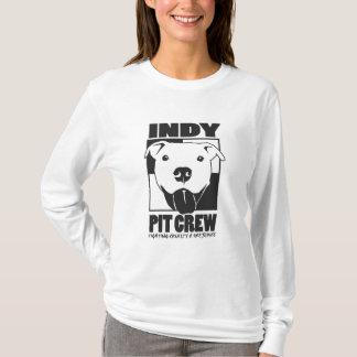 Camiseta Hoodie do logotipo das senhoras do grupo de poço
