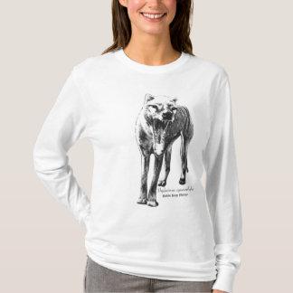 Camiseta Hoodie do Thylacine
