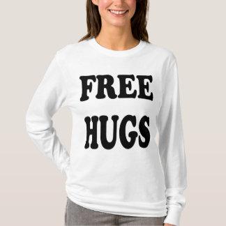 Camiseta Hoodie livre dos abraços