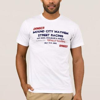 Camiseta Hooligan e méis de HotRods
