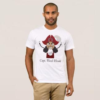 Camiseta Hooray ganchos do salto! (Branco T)