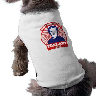 Camiseta Hoosier para Hillary Clinton 2016