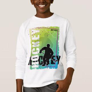 Camiseta Hóquei abstrato (menino)