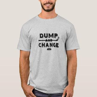 Camiseta Hóquei da descarga e da mudança