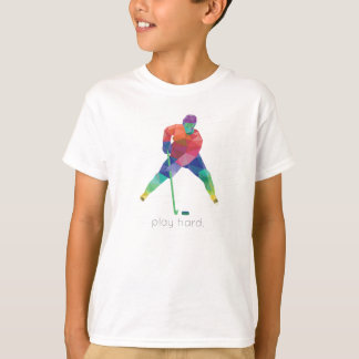 Camiseta Hóquei duro Origami do jogo