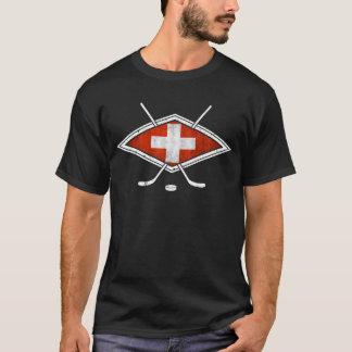 Camiseta Hóquei em gelo do suíço de Schweiz Eishockey