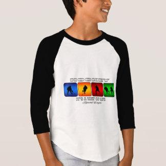 Camiseta Hóquei legal é um modo de vida