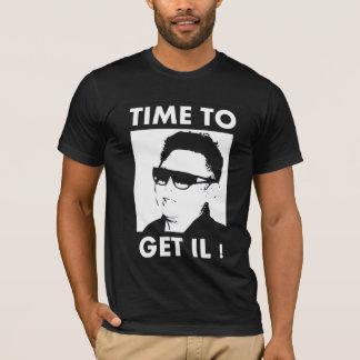 Camiseta Hora de obter o IL
