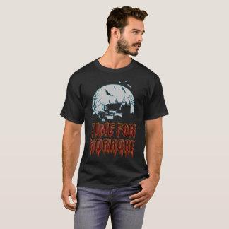 Camiseta Hora para o horror!
