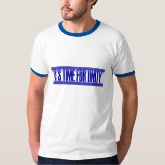 Camiseta Hora para o t-shirt da unidade