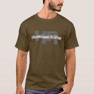 Camiseta Hora, T longo de Raza do La havaiano de Rican -