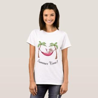Camiseta Horas de verão com Lilly os carneiros