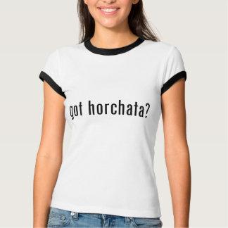 Camiseta horchata obtido?