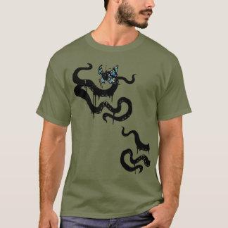 Camiseta Horror de Cthulhu do tentáculo