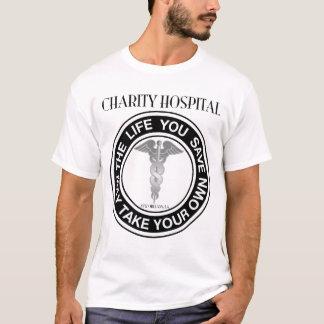 Camiseta Hospital da caridade - a vida onde você salvar… -