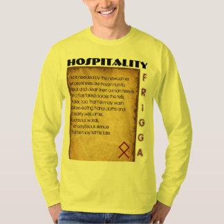 Camiseta Hospitalidade de Havamal
