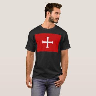Camiseta hospitall teutonic templar de malta da cruz