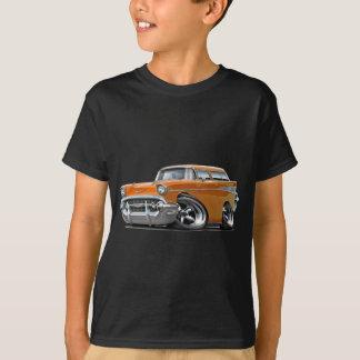 Camiseta Hot rod 1957 da laranja do nómada de Chevy