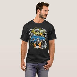 Camiseta Hot rod da abelha do monstro