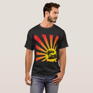 Camiseta Hot rod de Sun de ascensão