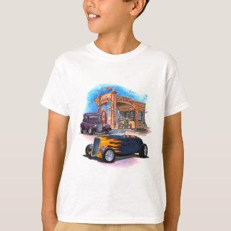 Camiseta Hot rod do posto de gasolina
