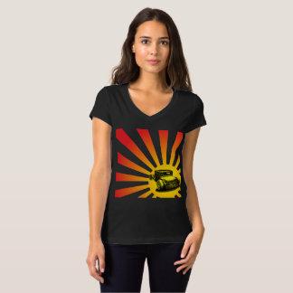 Camiseta Hot rod do sol de ascensão