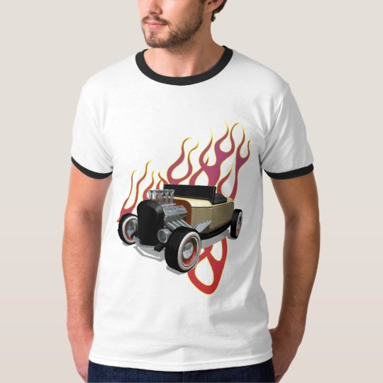 Camiseta hot rod fire
