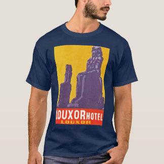 Camiseta Hotel Egipto de Louxour do vintage