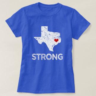 Camiseta Houston forte, furacão Harvey que diz mulheres