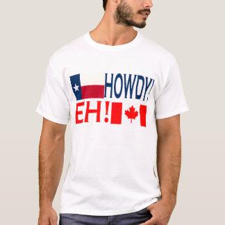 Camiseta Howdy Eh!!!
