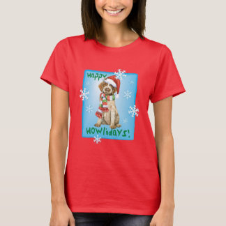 Camiseta Howlidays feliz Griffon