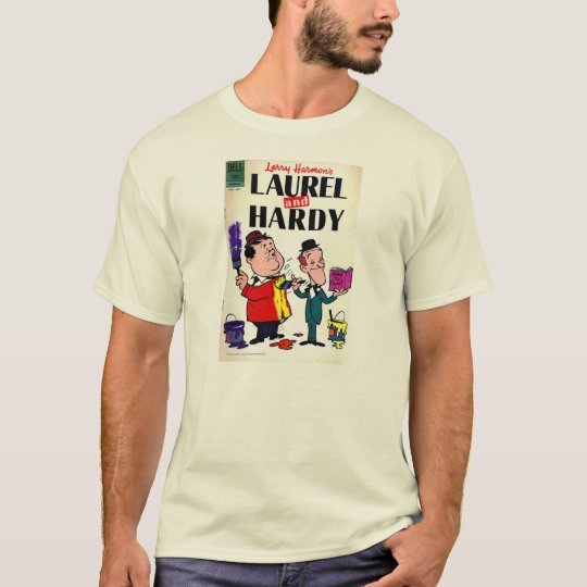 Camiseta HQ Laurel and Hardy