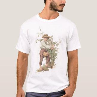 Camiseta Huckleberry Finn que escolhe a litografia das