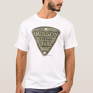 Camiseta Hudson construiu o corpo de aço/camisa de Hudnut