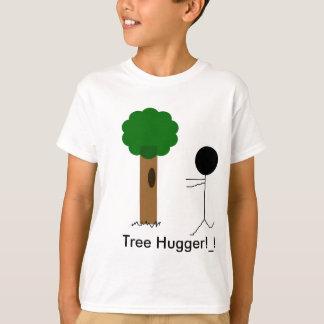 Camiseta hugger da árvore, árvore Hugger! _!