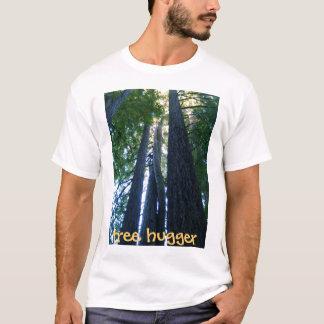 Camiseta hugger desportivo da árvore