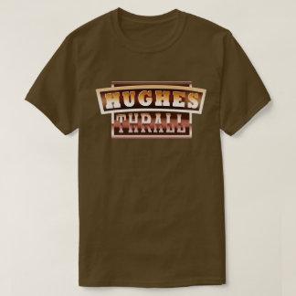 Camiseta Hughes/t-shirt homens do encalço