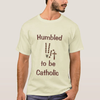 Camiseta Humbled para ser católico