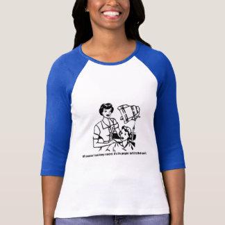Camiseta Humor do cabeleireiro - naturalmente eu posso