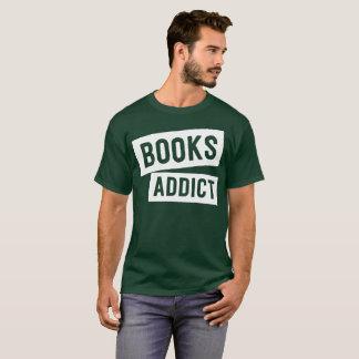 Camiseta Humor engraçado da leitura do viciado do livro