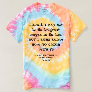 Camiseta Humor político, o T do artista
